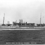 HMT Dunera, Sailed Hong Kong 6 May 1951, Arrived Southampton 7 June 1951